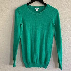 Old Navy Green Crew Neck Sweater Sz S
